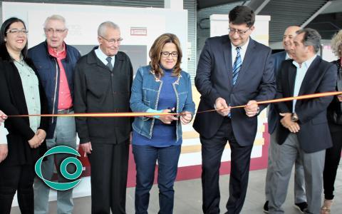 Florentino Mangas Blanco junto a la presidenta de la Diputación de Zamora