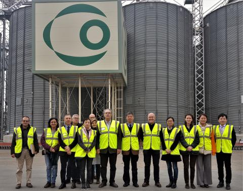 Delegación de China en COBADU