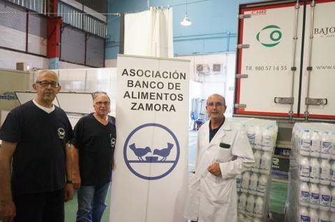 3500 litros de leche para ayudar a las familias más necesitadas de Zamora