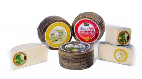 Variedad de quesos Bajo Duero