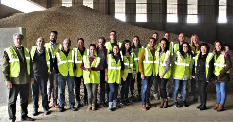 Alumnos y profesores de la Universidad Politécnica de Madrid en COBADU.