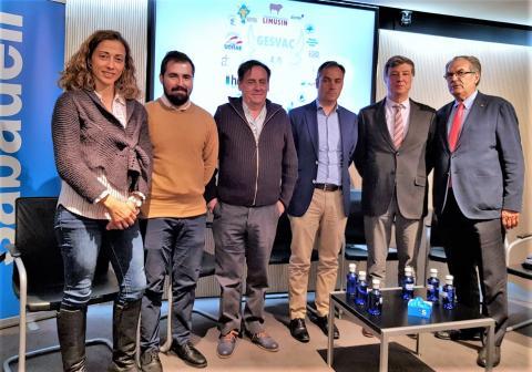 Presentación en Madrid de Gesvac 4.0 con la presencia de Flor Linares y Rafael Sánchez
