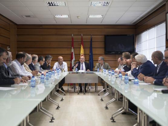 Reunión de URCACYL con el Consejero.